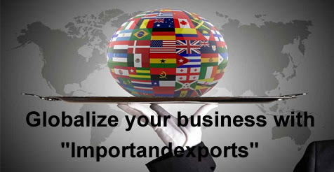 "Globalize your business and find new opportunities with ""importandexports.com."""