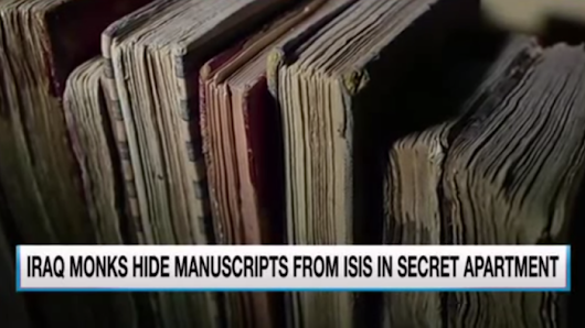 Brave Monks Secretly Save Ancient Books from ISIS Forces