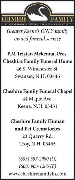 Cheshinre Family Funeral Home Keene Nh