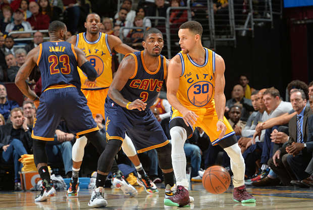 Golden State Warriors ante Cleveland Cavaliers