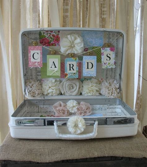 68 best Wedding Card Suitcase Holders images on Pinterest