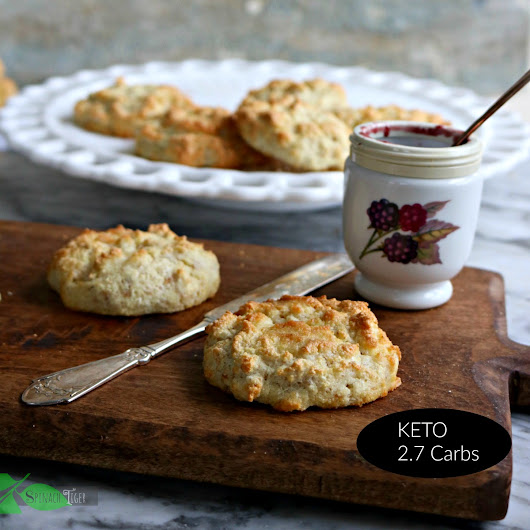 Grain Free Biscuits, Low Carb, Keto, Gluten Free
