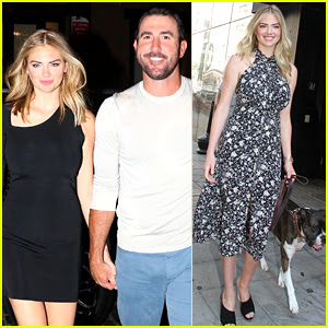 Kate Upton Dishes on Justin Verlander Wedding Plans, Dances With Dog Harley
