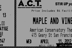 Play in the City - Maple and Vine Ticket