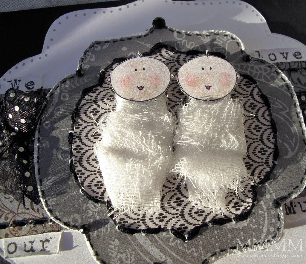 mummy baby twins mel stampz
