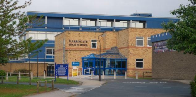 El colegial fue excluido permanentemente de la escuela secundaria Harrogate en el día de su muerte