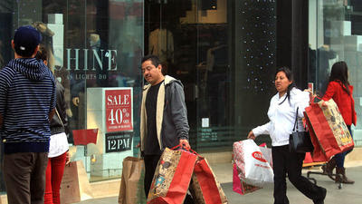 October retail sales beat forecasts: Happy holidays after all?