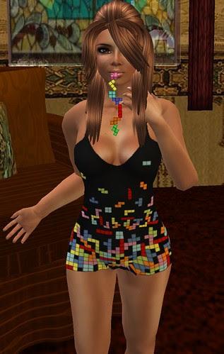 Geekgasm 21 Relentless Couture Tetris mini