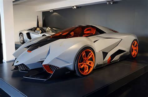 Lamborghini Egoista Goes on Permanent Display at Lamborghini HQ GTspirit