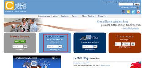 central insurance login   payment dumper
