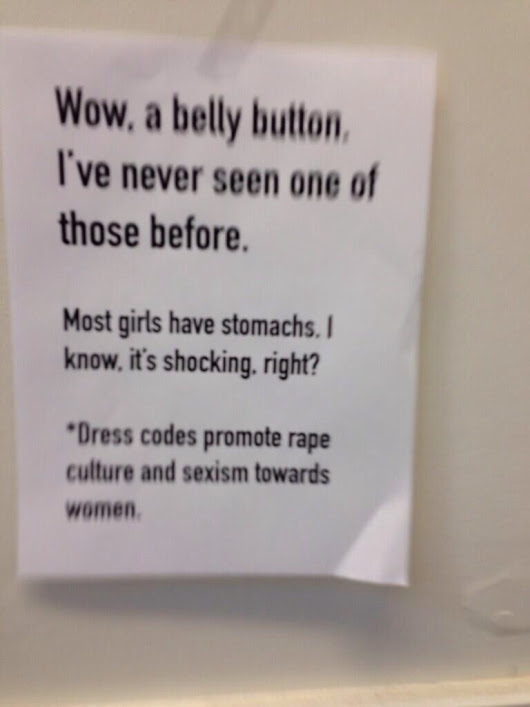Is it a Dress Code..or is it shaming Women?