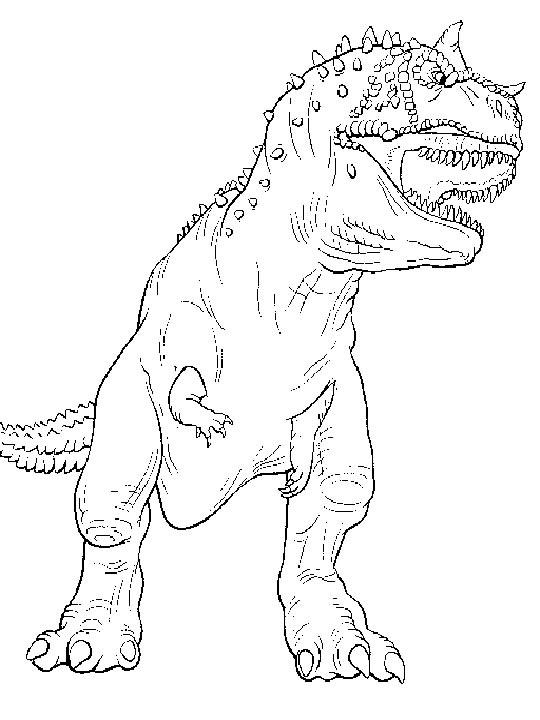 ausmalbilder dinosaurier t rex