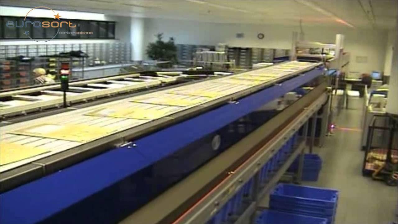Eurosort Single Split Tray Bay Sorter For Mail