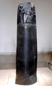 Código de Hammurabi en el museo del Louvre de París