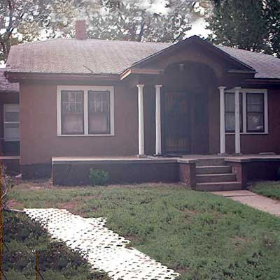 1930s Stucco Home Transformed: Before from this old house curb appeal finalists 2012