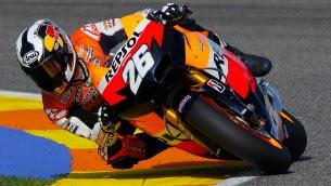 Valencia MotoGP Test Wednesday final