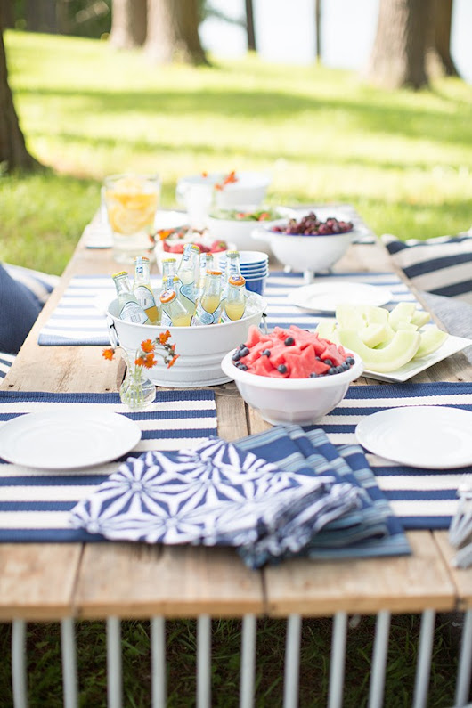 Annie's Outdoor Party Tips & Ideas|Fresh American Style