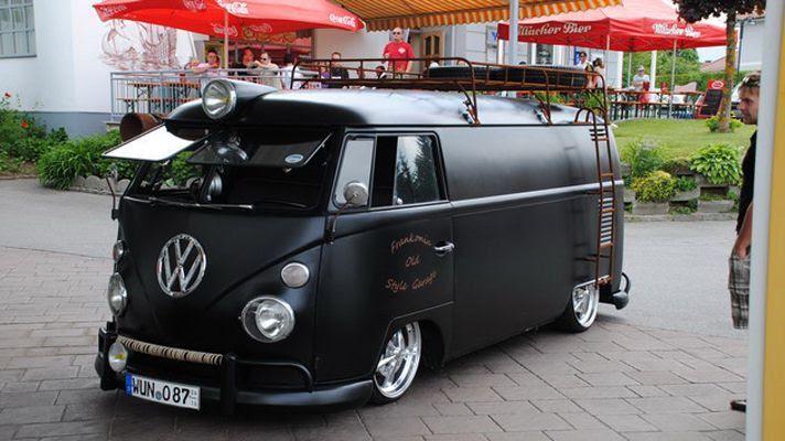 Black Vw Bus Cool Cyclops Re Pinned By Www Wfpblogs