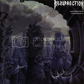 Resurrection - Embalmed Existence (Nuclear Blast Records, 1992)