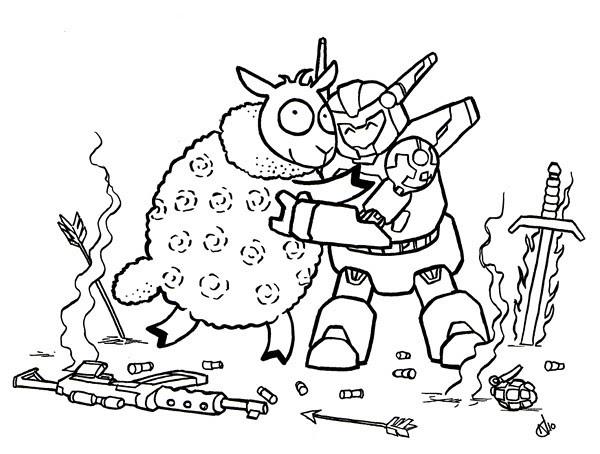vern and mobot hug