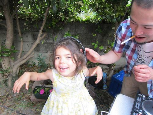 sasha as DJ