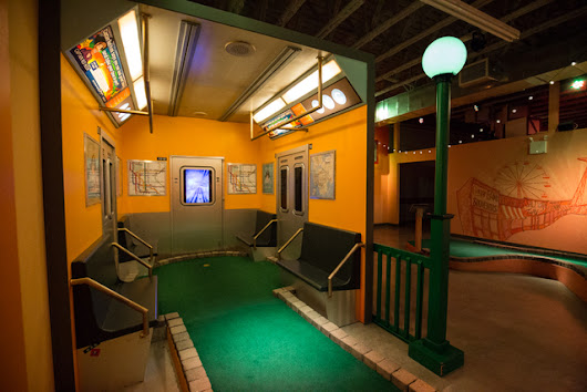 Photos: A Magical Mini Golf Course Exists In Brooklyn