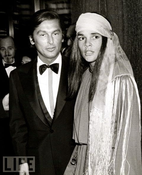 Robert Evans and Ali MacGraw - Ali would be one of his 7 wives.