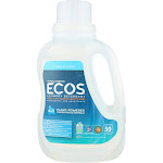 Earth Friendly Free And Clear Laundry Detergent - Case Of 8 - 50 Fl Oz.