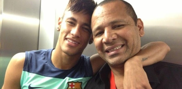Neymar pai não está satisfeito com os problemas tributários que enfrenta na Espanha