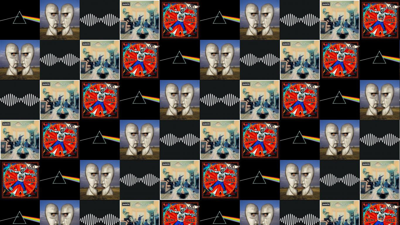 Pink Floyd Dark Side Moon Division Bell Arctic Wallpaper Tiled