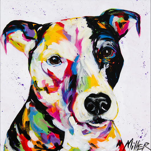 The Story of My Dogs | Tracy Miller's Artspan Blog