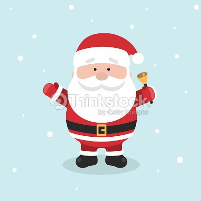 Cartoon Santa Claus For Your Christmas And New Year Greeting Design