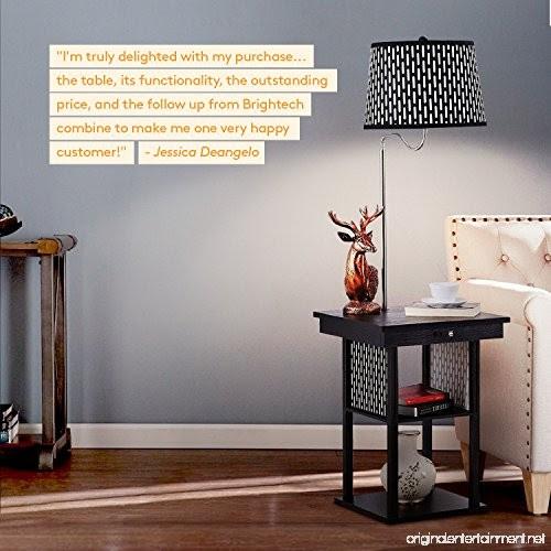 Brightech Madison - Mid Century Modern Nightstand Alexa ...