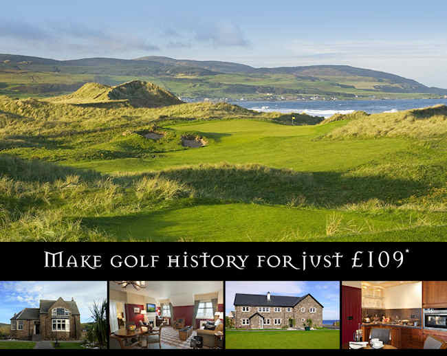 Machrihanish Dunes has been called The world's next great golf experience and during the month of April, you're invited to come stay with us and play Scotland's newest championship- caliber links course for the special price of as little as £109.