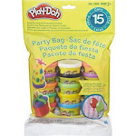 PLAY DOH PARTY PAC 15CT BAG