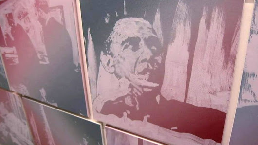 The art of Obama: A painting a day - BBC News