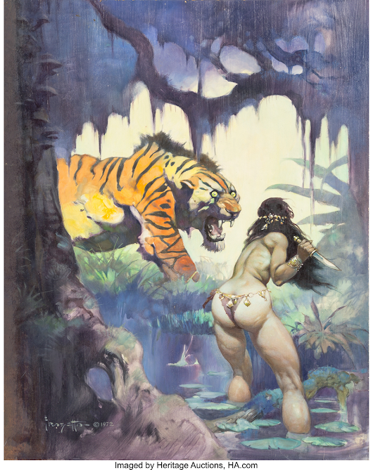 Frank Frazetta's Escape on Venus sells for $660,000