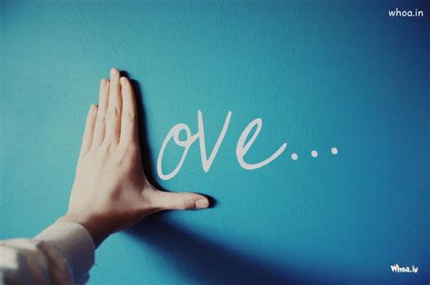 love creativity  hand hd wallpaper