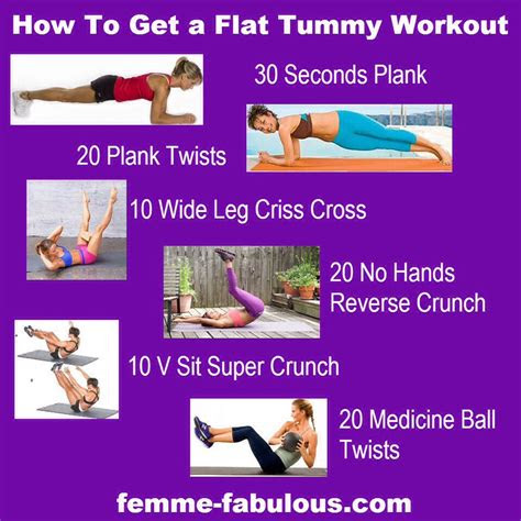 steps    flat stomach trusper