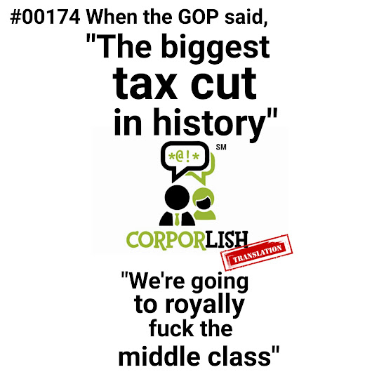 The biggest tax cut in history | Corporlish