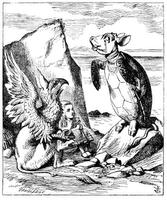 John Tenniel`s original (1865) illustration for Lewis Carroll`s