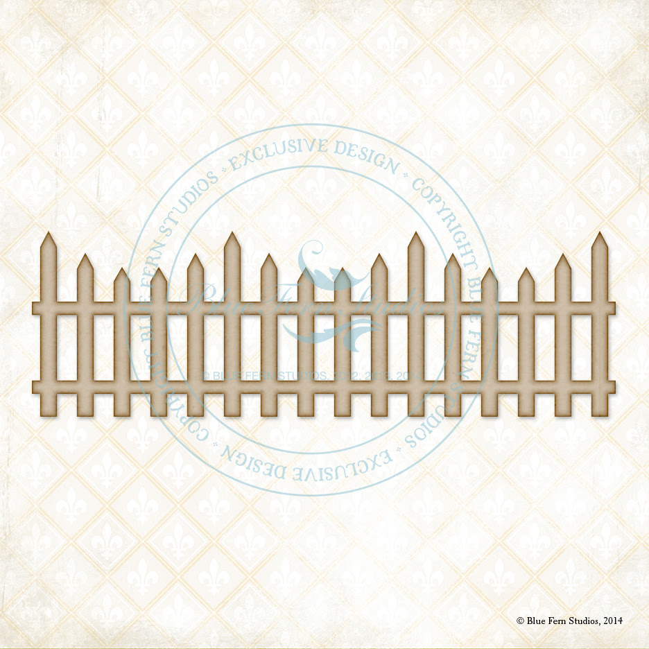 Country Picket Fence - Click Image to Close