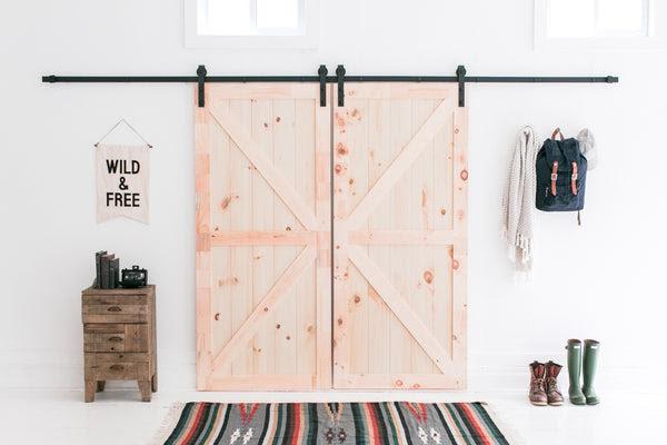 13 Foot Barn Door Hardware Kit Industrial By Design