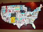Kyle Brooks' photo of USA license plate map