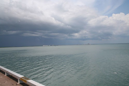 Storm over Darwin Harbour