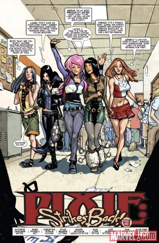 Preview X-Men: Pixe Strikes Back