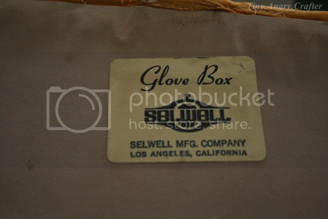 TinyAngryCrafts SDVFM glove box by Selwell Mfg