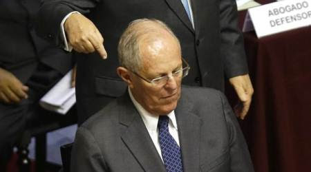 Peru President says if Congress topples him, democracy at risk