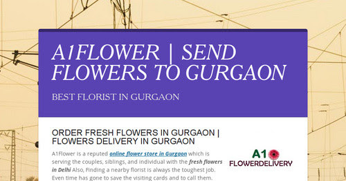 A1FLOWER | SEND FLOWERS TO GURGAON