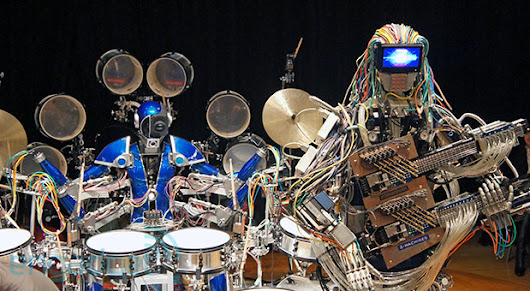 Z-Machines: the robot band that headlined Maker Faire Tokyo (video)